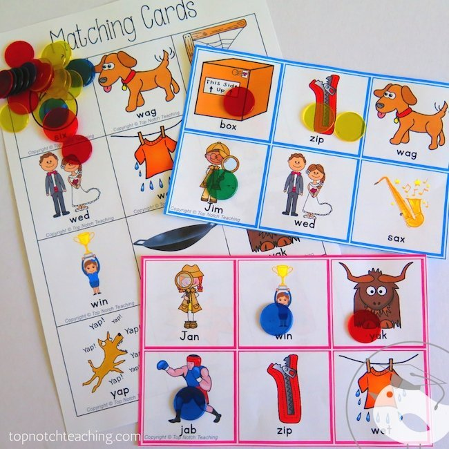 Are your kids working on CVC words? Do you need more CVC words activities? This pack will help your students to read, spell and write CVC words.