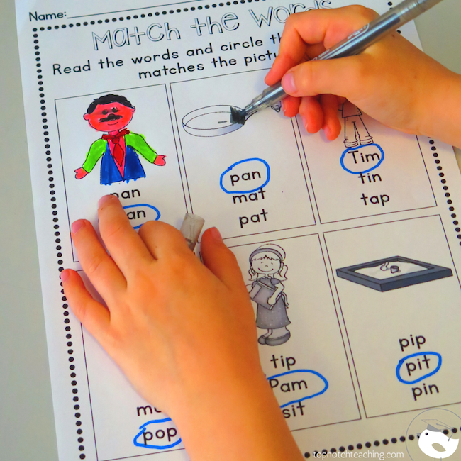 Do you need more cvc worksheets and games? This cvc worksheets bundle will help your students to read, spell and write cvc words.