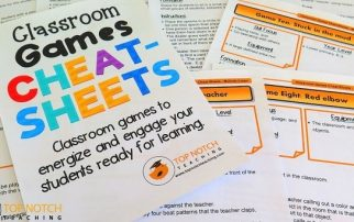 Here you'll find some of the best, time-tested classroom games that you can use to re-energize your students and get them back on track for learning.