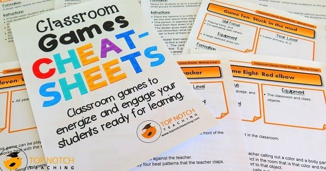 Fun Classroom Games For Kids