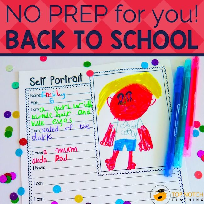 These Getting to Know You Activities are the perfect way to welcome your students into the new school year and best of all the tasks are NO PREP for you!