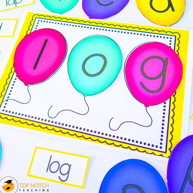 Help your students master reading and spelling their CVC Words with these fun and interactive NO PREP CVC Words Worksheets that are perfect for morning tubs.