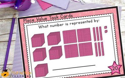 Place Value Cards for Building Number Sense