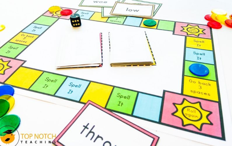 Classroom Spelling Games for Advanced Spelling Words