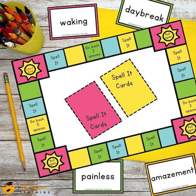 Your students will love practicing their spelling with these interactive classroom spelling games. It includes word cards, and a suggested teaching order.