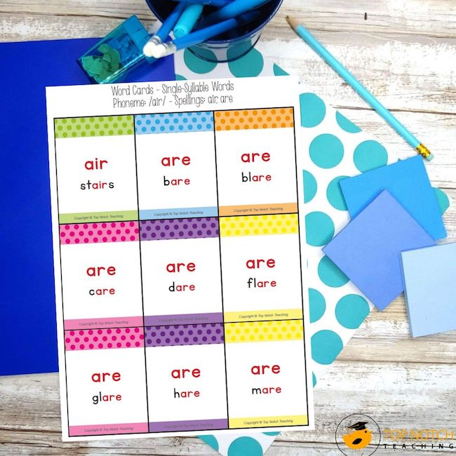 Give your students a fun and interactive way to practice advanced spelling patterns with this Spelling Card Game that is perfect for a whole class warm-up.