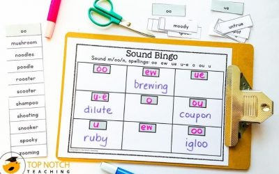 Phonics Bingo Spelling Game – Advanced Code