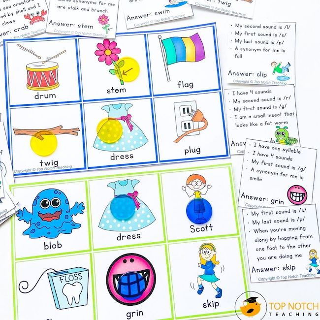 Engage your students in phonics practice with a fun and interactive phonics bingo game that your students will LOVE. Perfect for word work centers.