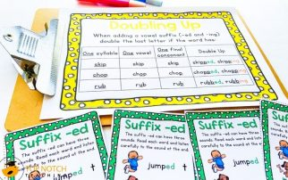 Help your students master the suffix ed and suffix ing with these NO PREP ed and ing worksheets and games. They're perfect for literacy stations!