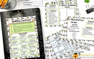 Are you looking for some fun spelling activities to use with any list of words? This pack provides more than 20 spelling activities for 3 different levels.