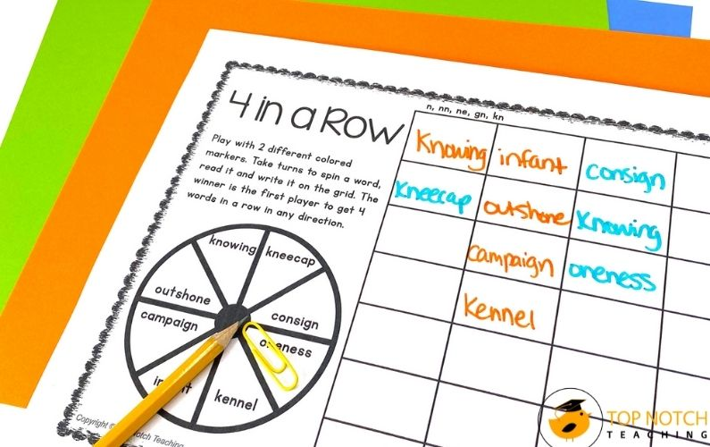 This pack includes activities, games, and worksheets for n sound words. There are activities for single-syllable and multisyllabic words.