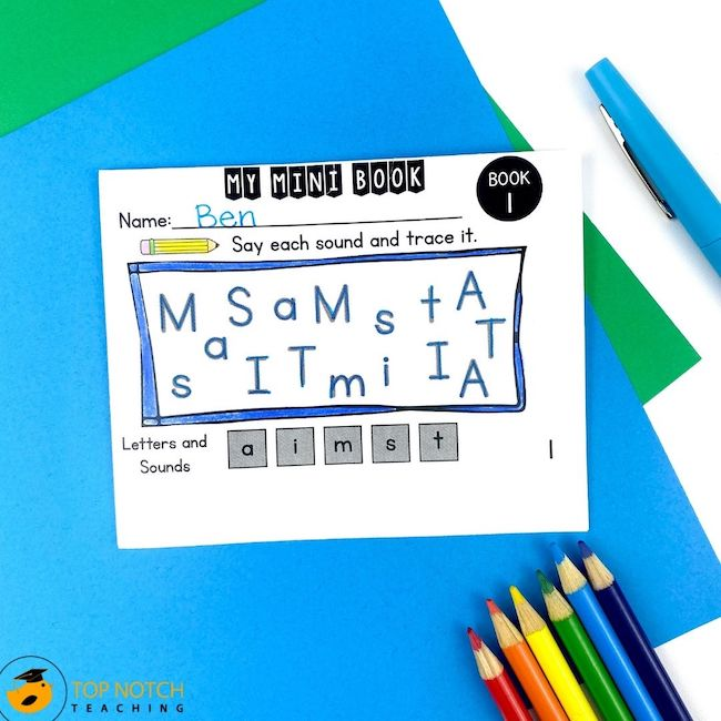 CVC Words Mini Books are a fun and effective way to help your students with short vowel phonics practice using CVC words. There are 35 mini-books in this set.