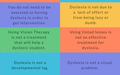 10 Dyslexia Myths
