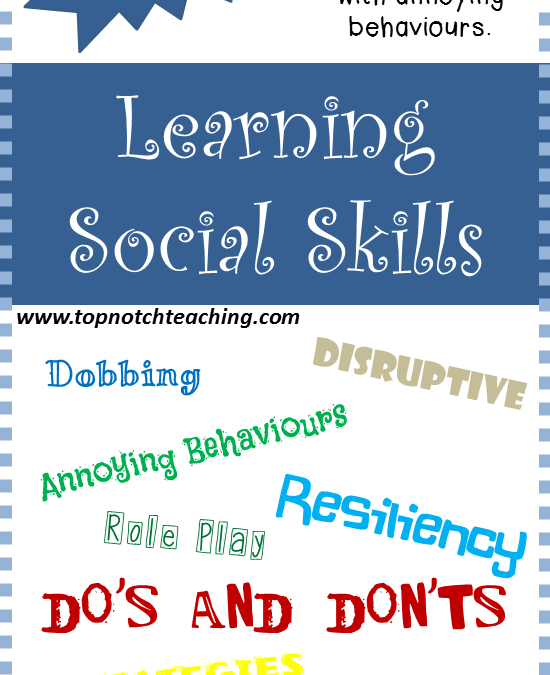 Tales From A First Year Teacher: Learning Social Skills